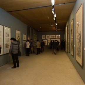"""25 Exhibition view of """"For Chinese Painting Round II""""  290x290 - """"Starting, Inheriting, Innovation and Integration"""" For Chinese Painting (Round II) Exhibition opened at CAFA Art Museum"""