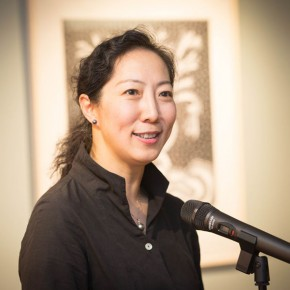 29 Dean of the Academic Affairs Office Wang Xiaolin addressed 290x290 - In the Mood for Love – the Exhibition of Female Artists' Growth in Art Forms is unveiled at the Gauguin Gallery at Wangjing SOHO