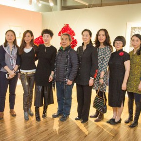32 Group Photo of Honored Guests 290x290 - In the Mood for Love – the Exhibition of Female Artists' Growth in Art Forms is unveiled at the Gauguin Gallery at Wangjing SOHO