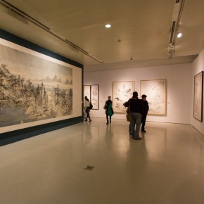 """34 Exhibition view of """"For Chinese Painting Round II""""  290x290 - """"Starting, Inheriting, Innovation and Integration"""" For Chinese Painting (Round II) Exhibition opened at CAFA Art Museum"""