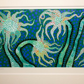 34 Yayoi Kusama Flower of Night 290x290 - In the Mood for Love – the Exhibition of Female Artists' Growth in Art Forms is unveiled at the Gauguin Gallery at Wangjing SOHO