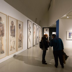"""35 Exhibition view of """"For Chinese Painting Round II""""  290x290 - """"Starting, Inheriting, Innovation and Integration"""" For Chinese Painting (Round II) Exhibition opened at CAFA Art Museum"""