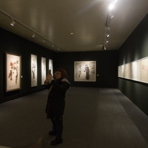 """36 Exhibition view of """"For Chinese Painting Round II""""  290x290 - """"Starting, Inheriting, Innovation and Integration"""" For Chinese Painting (Round II) Exhibition opened at CAFA Art Museum"""