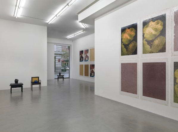 Installation view, Le monde, le continent, la France, etc..., etc..., la rue de bizerte, moi  Simon Lee Gallery  London, 2014; Courtesy of Simon Lee Gallery