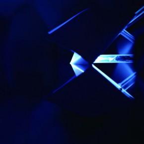 Liu Jiayu, Soligami, 2013; installation, Acrylic, LED, White diffusing light film, Sero