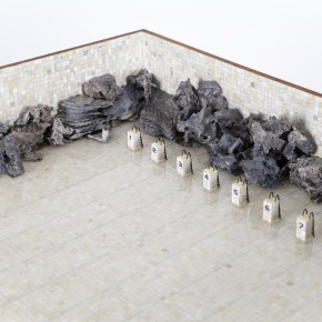Ni Youyu Garden Pool 2014 2015 Installation mixed media 160x85x110cm 02 290x290 - Constant Dropping Wears Away A Stone: Ni Youyu Solo Exhibition to be Presented at Museum of Contemporary Art, Taipei