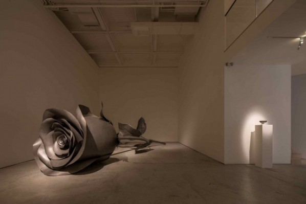 01 Exhibition View of Floating Rose — Cai Zhisong Solo Exhibition
