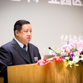 02 Dean of the Institute of Arts Administration and Education at CAFA Yu Ding
