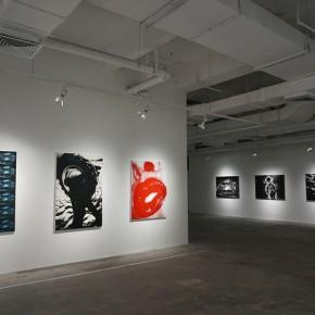 02 Exhibition View of Fragments Silkscreens of Daido Moriyama