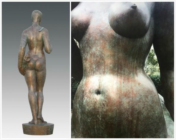 Geng Xue, Big Woman Statue, 2015