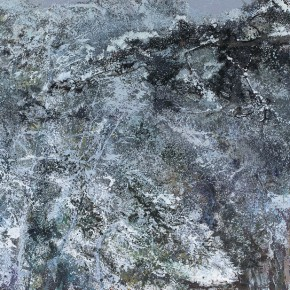 02 Hong Ling, Snow of the Pine Mountain, oil on canvas, 250 x 415 cm, 2015
