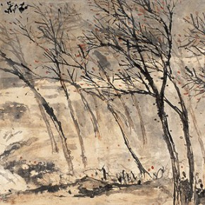 "02 Pan Tianshou Heavy Wind and Water ink on paper 53 x 168 cm 19221 290x290 - ""Mountains and Rivers – Chinese Landscape on a Multi-Dimensional Level "" was unveiled in Sanya"