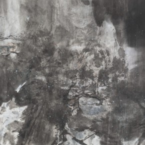 03 Hong Ling, Ink Painting No.11, ink on paper, 70 x 138 cm, 2015