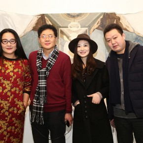 03 View of the Opening Ceremony of Dimension and Trajectory – Liu Yujie solo exhibition 290x290 - Dimension and Trajectory – Liu Yujie solo exhibition was unveiled at Amy Li Gallery