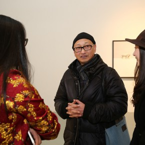 04 View of the Opening Ceremony of Dimension and Trajectory – Liu Yujie solo exhibition 290x290 - Dimension and Trajectory – Liu Yujie solo exhibition was unveiled at Amy Li Gallery