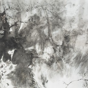 05 Hong Ling, Ink Painting No.14, ink on paper, 70 x 138 cm, 2015