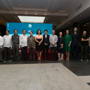 "10 Group photo of honored guests who were present at the opening ceremony of ""Mountains and Rivers – Chinese Landscape on a Multi Dimensional level"" 290x290 - ""Mountains and Rivers – Chinese Landscape on a Multi-Dimensional Level "" was unveiled in Sanya"
