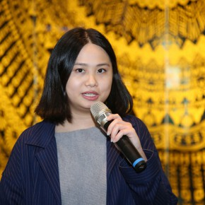 "11 Curator Tan Yue addressed 290x290 - Guangdong Times Museum presents the project of ""Gunilla Klingberg: Brand New View"""