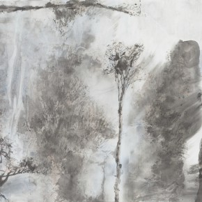 11 Hong Ling, Ink Painting No.10, ink on paper, 70 x 138 cm, 2015