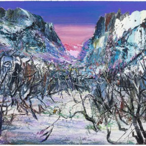 "20 Yin Zhaoyang Cold Woods oil on canvas 160 x 250 cm 20141 290x290 - ""Mountains and Rivers – Chinese Landscape on a Multi-Dimensional Level "" was unveiled in Sanya"