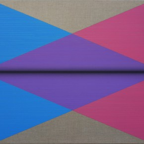 """22 Ju Fang Page After Page Double Planes 2015 Oil on canvas 73x118cm 290x290 - Soka Art Center announces the group exhibition """"Post-80s Generation's Modernism"""" opening Jan. 9 in Beijing"""