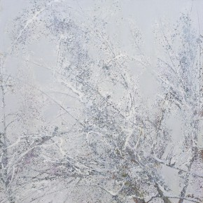 24 Hong Ling, Jade-Like Wind, oil on canvas, 180 x 180 cm, 2014