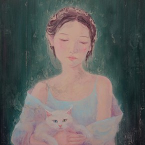 """24 Zhang Ziye Shining No. 5 2015 Oil on canvas 150x130cm 290x290 - Soka Art Center announces the group exhibition """"Post-80s Generation's Modernism"""" opening Jan. 9 in Beijing"""
