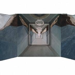 27 Liu Yujie Mountain 2015 Oil on canvas 150x380cm 290x290 - Dimension and Trajectory – Liu Yujie solo exhibition was unveiled at Amy Li Gallery