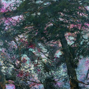 28 Hong Ling, Pine Bone, oil on canvas, 190 x 250 cm, 2014