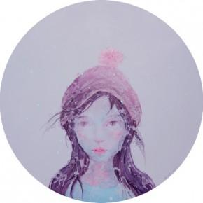 "29 Zhang Ziye Stateless No. 41 2014 Oil on canvas Diameter 120cm 290x290 - Soka Art Center announces the group exhibition ""Post-80s Generation's Modernism"" opening Jan. 9 in Beijing"