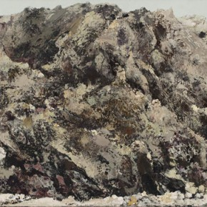 52 Hong Ling, High Mountains, oil on canvas, 70 x 200 cm, 2006