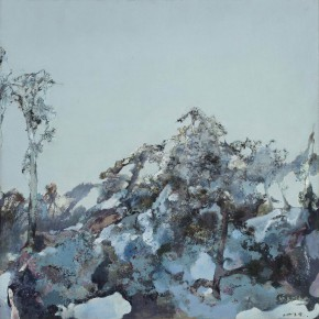 56 Hong Ling, The Snow of the Sky, oil on canvas, 200 x 200 cm, 2000