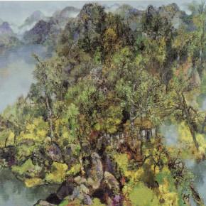 57  Hong Ling, Rhythm of the Wildness, 180 x 190 cm, 1997
