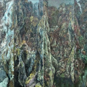 59  Hong Ling, Spirit of the Mountains and Rivers, 152 x 202 cm, 1993