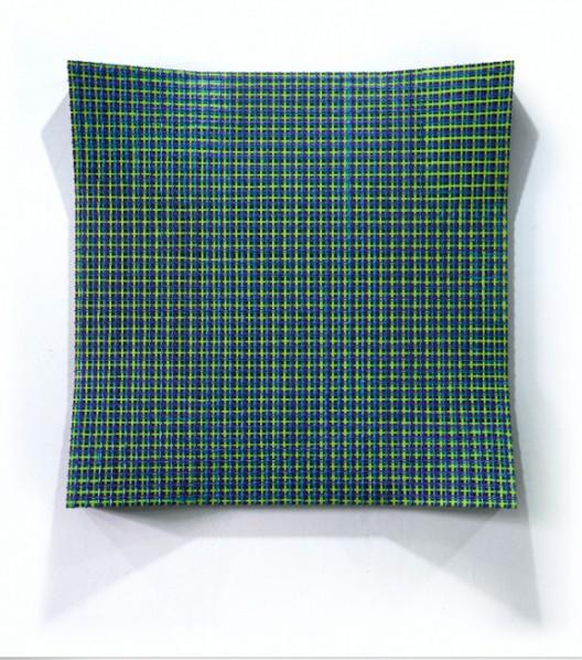 Chen Yufan, Derivatives, 2014; Acrylic and mixed media on canvas, 180x180cm