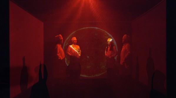 Light Bunker, Silk & Boundary, 2015; video