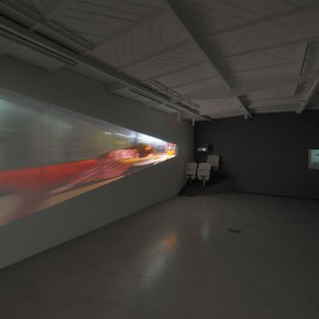 """Miri Segal Beam From Between your Eyes Video installation and mixed media 2008 7 mins Dimensions Variable 290x290 - Taipei Fine Arts Museum presents the group exhibition """"The Way Things Go"""""""