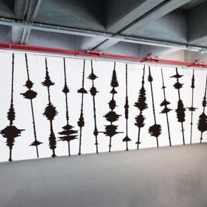 """Wei Hao Tseng Talking Forest 2016 Conductive ink amplifiers speakers vinyl Dimensions variable 290x290 - Taipei Fine Arts Museum presents the group exhibition """"The Way Things Go"""""""