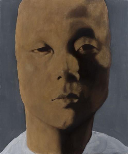 Zhang Shujian, Fellaheen, 2015; painting