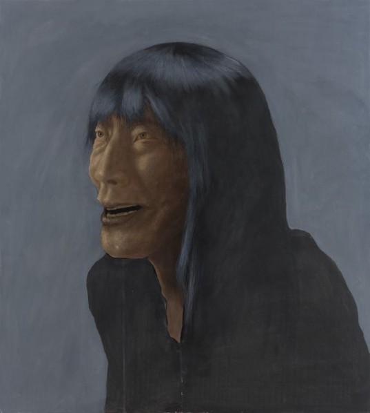 Zhang Shujian, Fellaheen No. 17, 2015; painting