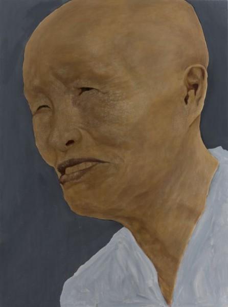 Zhang Shujian, Fellaheen No. 9, 2015; painting