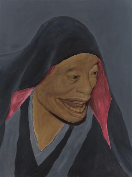 Zhang Shujian, Skin Weave No. 8, 2015; painting