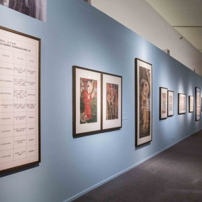 04 Display of the part of the copying of mural paintings 290x290 - CAFA Art Museum Awarded Many Prizes by the 2015 National Art Museum Excellent Project