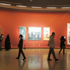 "04 Exhibition view of "" The National Art Exhibition of the Great Unity of China"" 290x290 - Celebrating Chinese New Year by Art: National Art Museum of China launched three New Year Shows in 2016"