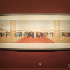 "05 Exhibition view of "" The National Art Exhibition of the Great Unity of China"" 290x290 - Celebrating Chinese New Year by Art: National Art Museum of China launched three New Year Shows in 2016"