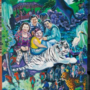 """06 Chen Xi Garden Tour 2003 Oil on canvas 300x200cm 290x290 - Chen Xi's Solo Exhibition """"So We Remember"""" to be Presented at the University Museum and Art Gallery in Hong Kong"""