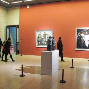"07 Exhibition view of "" The National Art Exhibition of the Great Unity of China"" 290x290 - Celebrating Chinese New Year by Art: National Art Museum of China launched three New Year Shows in 2016"