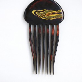 "07 Ji Xinlei Comb No.1 8.5 x 14 x 0.5 cm Chinese lacquer 2015 290x290 - We@CAFA – ""2015 Exhibition of the Students of CAFA from Hong Kong, Macao and Taiwan"" Opening Feb. 27 in Beijing"