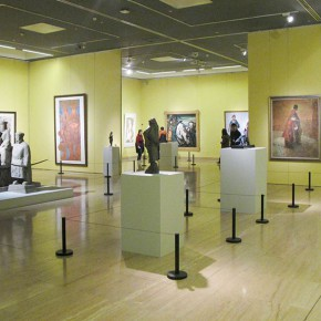 "08 Exhibition view of "" The National Art Exhibition of the Great Unity of China"" 290x290 - Celebrating Chinese New Year by Art: National Art Museum of China launched three New Year Shows in 2016"