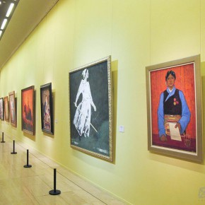 "13 Exhibition view of "" The National Art Exhibition of the Great Unity of China"" 290x290 - Celebrating Chinese New Year by Art: National Art Museum of China launched three New Year Shows in 2016"